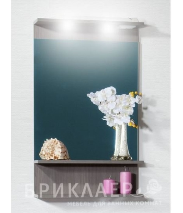 Зеркало Бриклаер Чили 55 серая лиственница