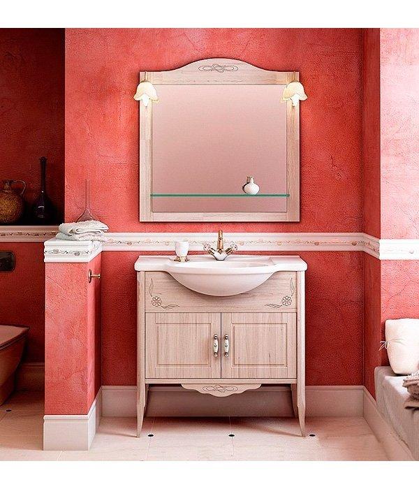 Комплект мебели EcoGreen Лидо 85 беленый дуб
