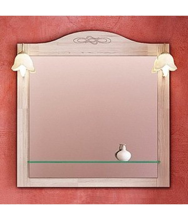 Зеркало EcoGreen Лидо 85 беленый дуб