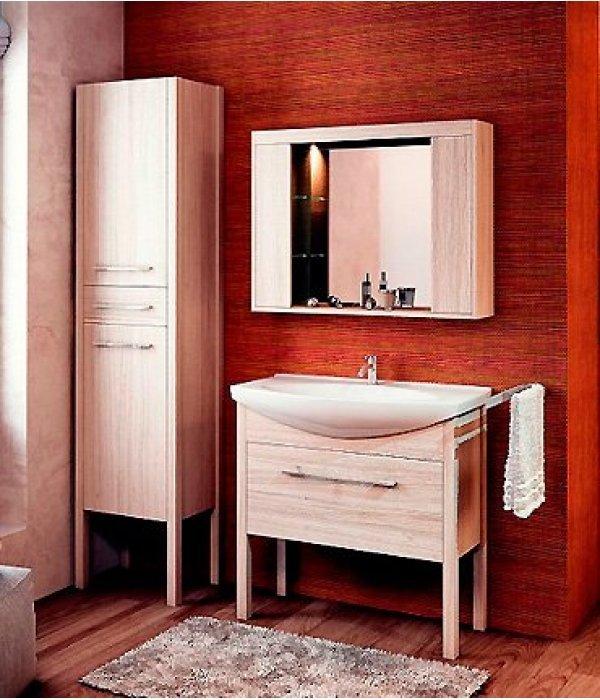 Комплект мебели EcoGreen Эллис 85, дуб