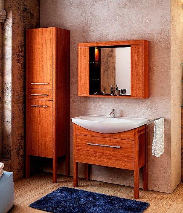Комплект мебели EcoGreen Эллис 85, коричневый