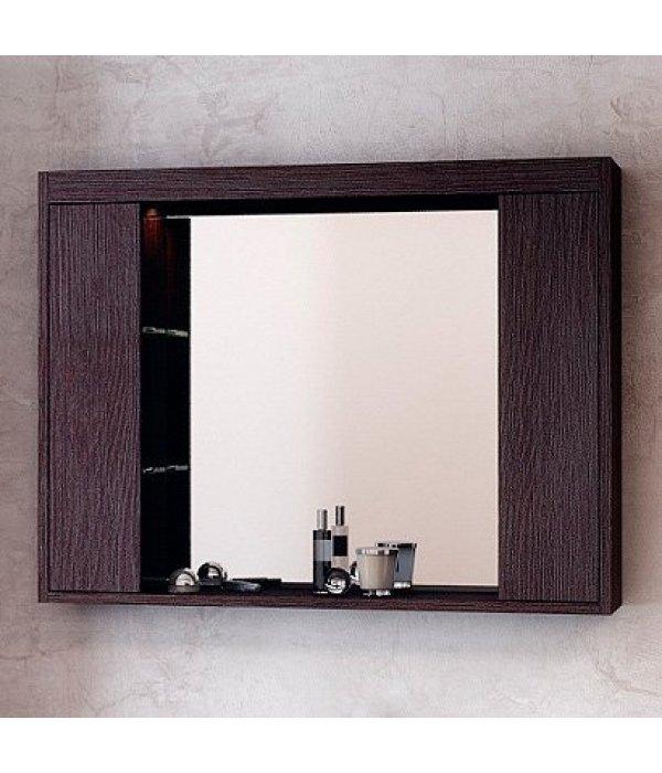 Зеркало-шкаф EcoGreen Эллис 85, венге