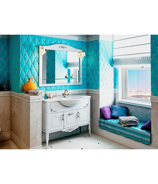 Комплект мебели EcoGreen Лидо 105 беленый дуб