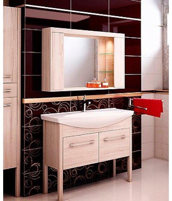 Комплект мебели EcoGreen Эллис 105, дуб