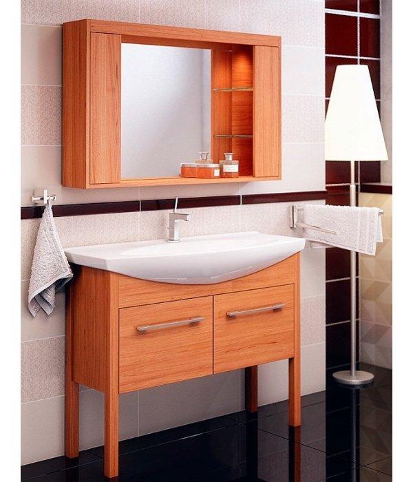 Комплект мебели EcoGreen Эллис 105, коричневый