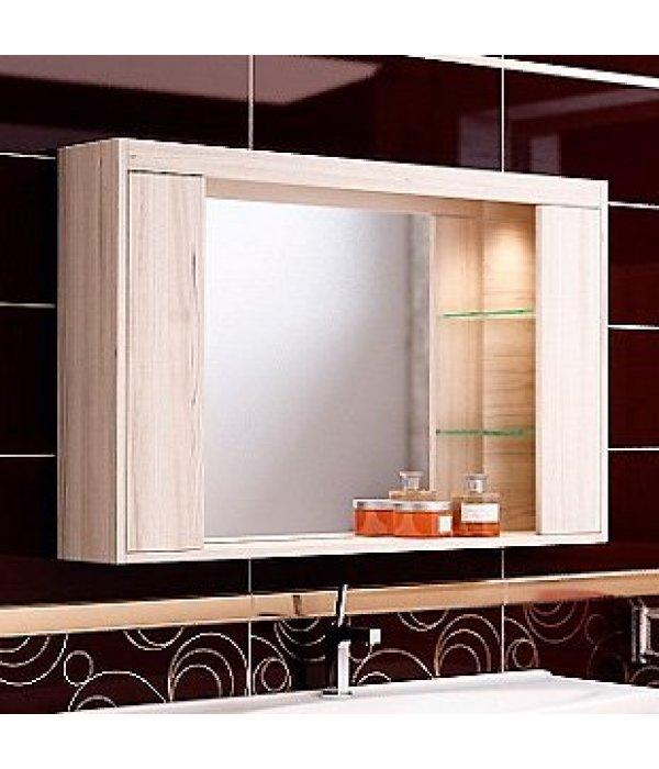 Зеркало-шкаф EcoGreen Эллис 105, дуб