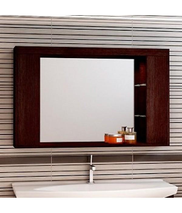 Зеркало-шкаф EcoGreen Эллис 105, венге