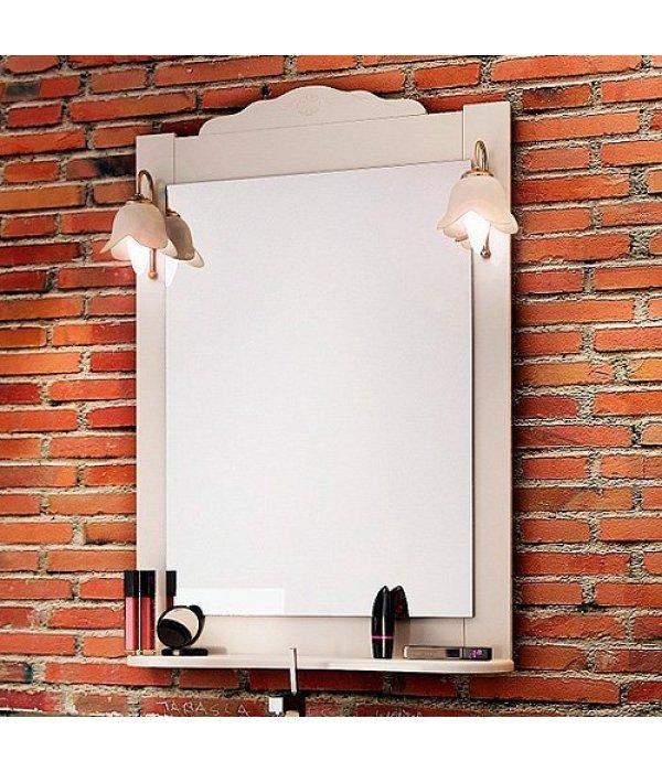 Зеркало EcoGreen Корфу 65 белый