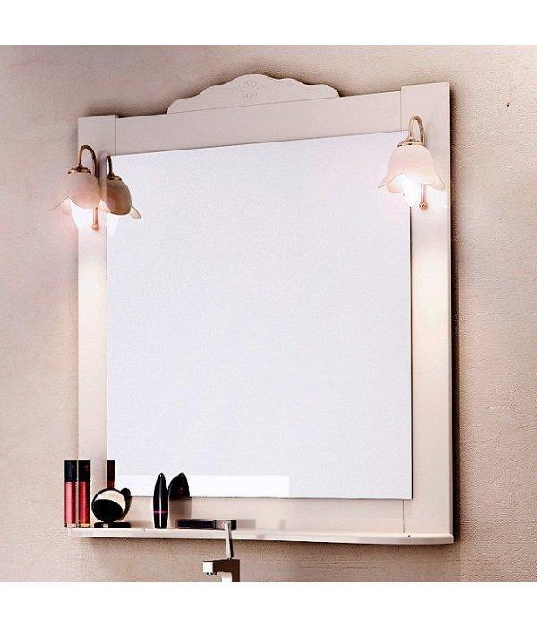 Зеркало EcoGreen Корфу 85 белый