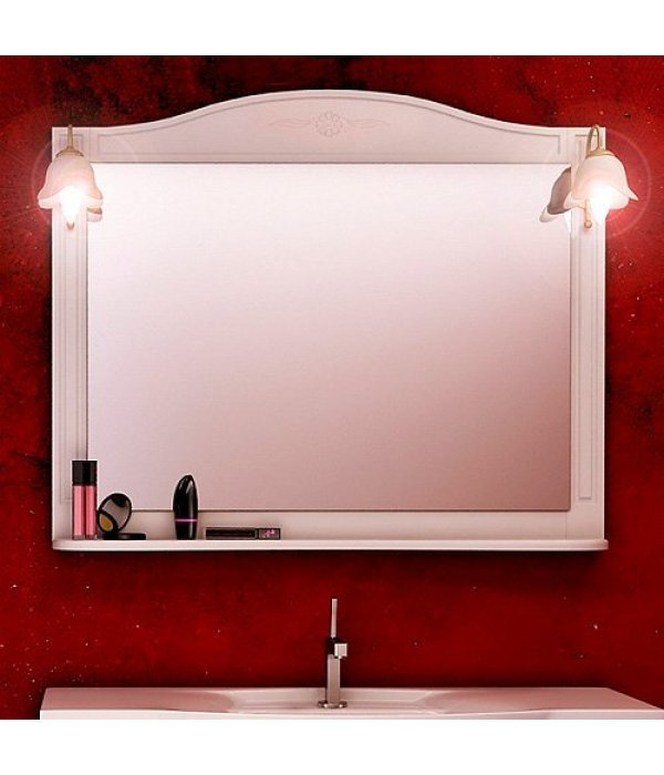 Зеркало EcoGreen Корфу 105 белый