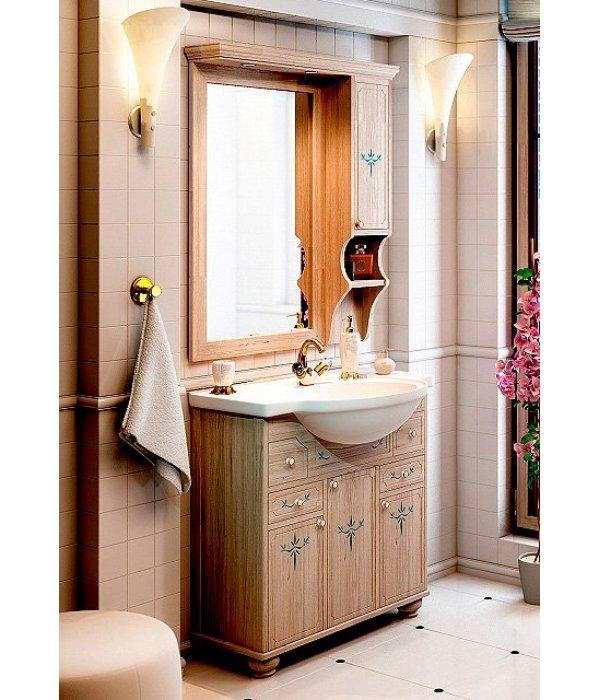 Комплект мебели EcoGreen Флорес 85 беленый дуб