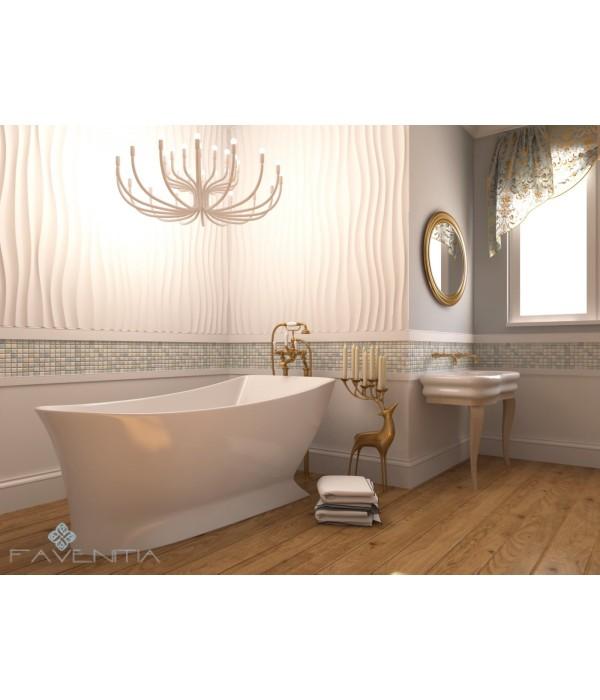 Отдельностоящая акриловая ванна Favenitia Lana