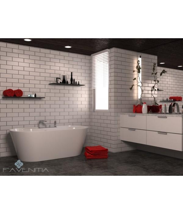 Отдельностоящая акриловая ванна Favenitia Veronica