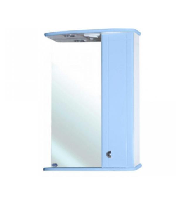 Зеркало-шкаф Bellezza Астра 55, голубой
