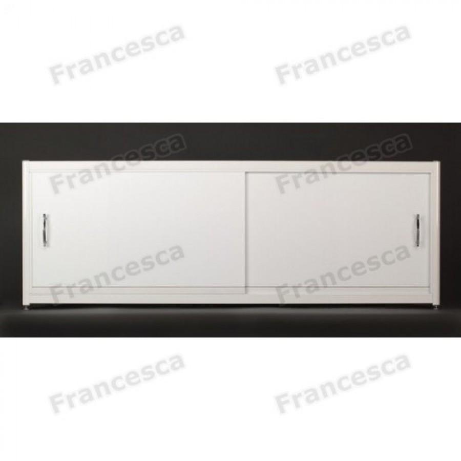Экран под ванну Francesca Elite 5 мм на роликах 120-180 см (Антискользящее Основание)