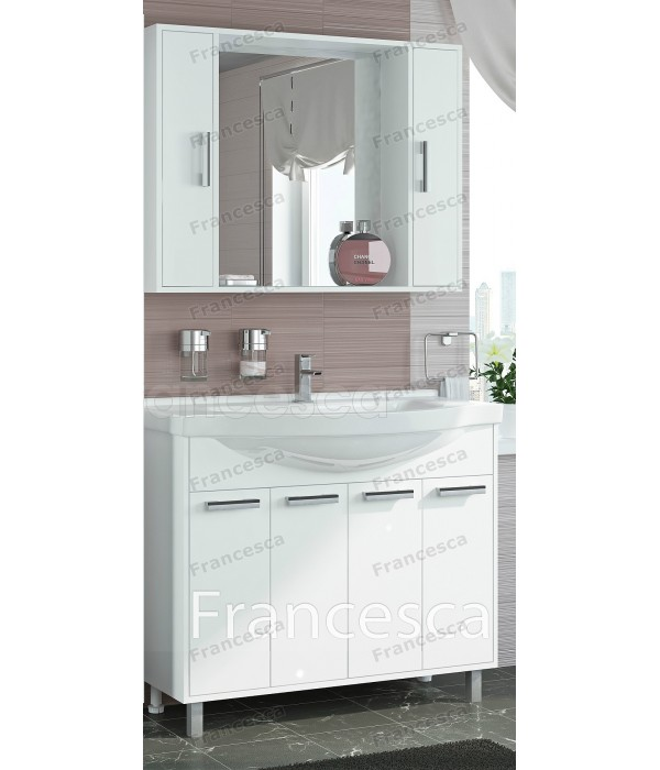 Комплект мебели Francesca Eco 100 белый