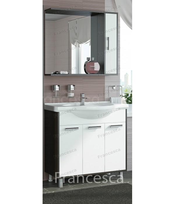 Комплект мебели Francesca Eco 85 белый-венге
