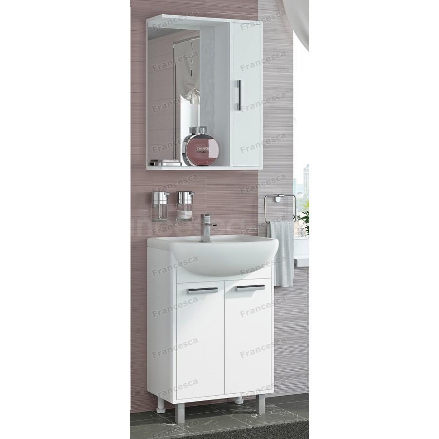комплект мебели Francesca Eco 55 белый