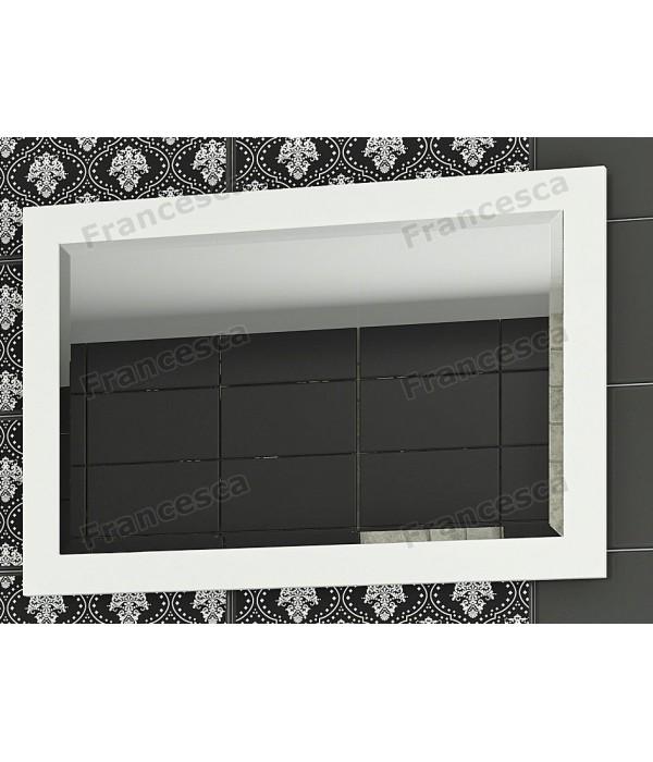 Зеркало Francesca Милана 75 белый полотно