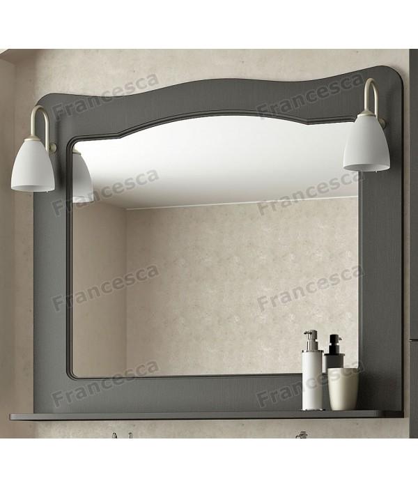 Зеркало Francesca Империя 100 венге полотно (со светильниками)