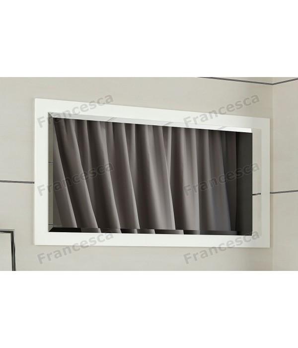 Зеркало Francesca Милана 80 белый полотно