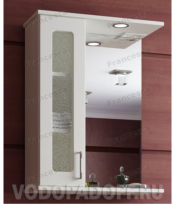 Шкаф-зеркало Francesca Оптима 50 С