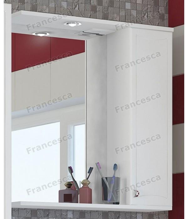 Шкаф-зеркало Francesca Венеция 70