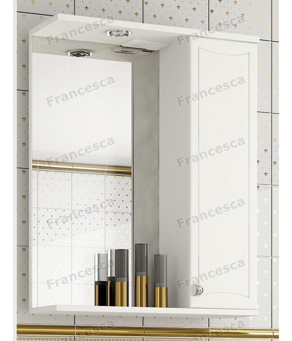Шкаф-зеркало Francesca Венеция 60