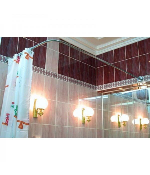 Карниз для ванны Г-образный 170*75см универсальный