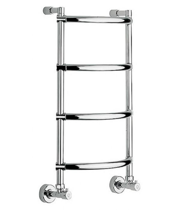 Полотенцесушитель водяной Margaroli Luna 432-4 хром (4323704CRN)