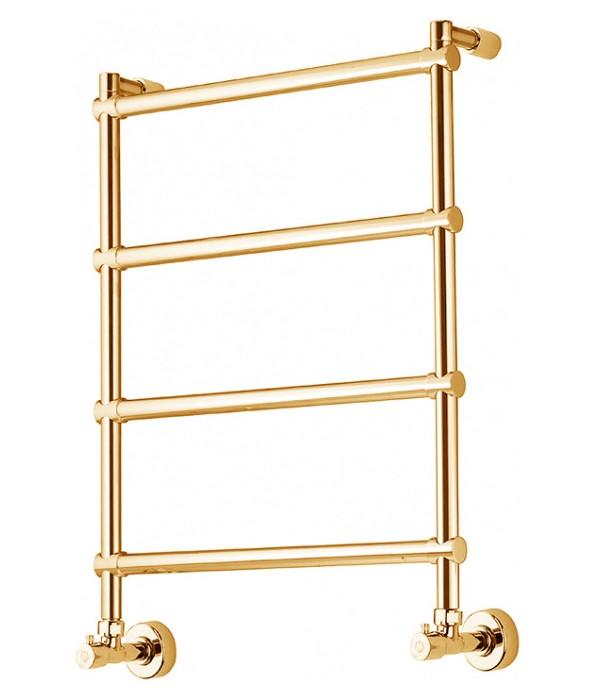 Полотенцесушитель водяной Margaroli Sole 370-442 золото (4423704GON)