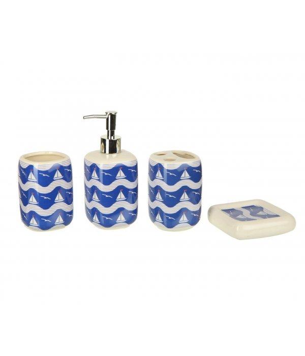 NAPOLI Набор аксессуаров для ванной, 4 предмета