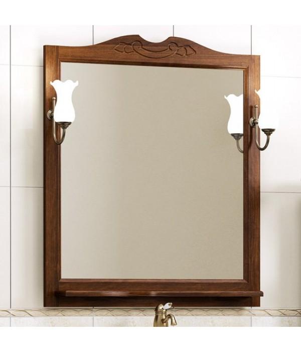 Зеркало Opadiris Клио 80, орех антикварный