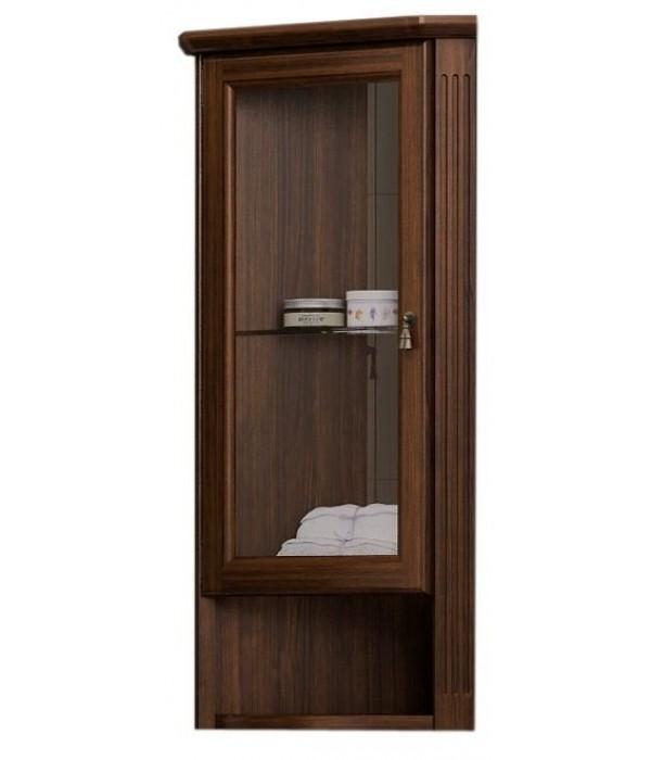 Шкаф навесной Opadiris Клио 32 угловой, орех антикварный