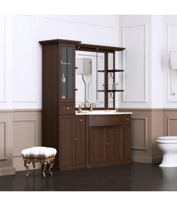 Комплект мебели Opadiris Корсо-оро №6, коричневый