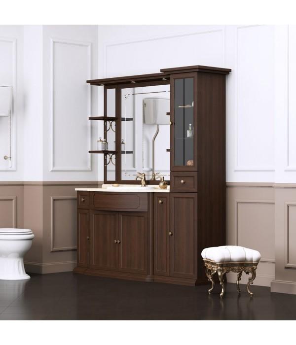 Комплект мебели Opadiris Корсо-оро №7, коричневый