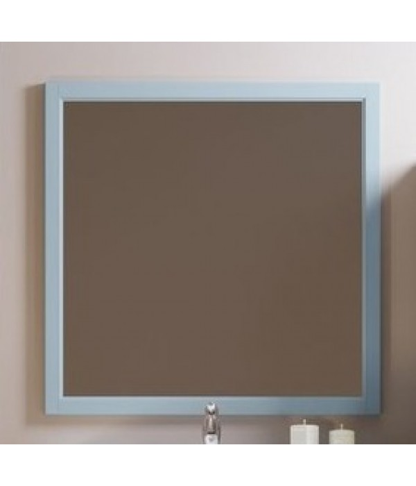 Зеркало Opadiris Омега 90, голубой