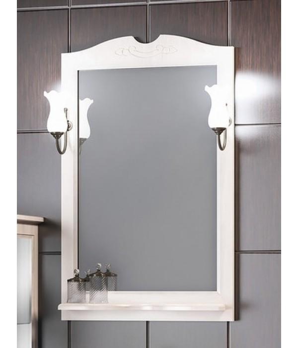 Зеркало Opadiris Клио 65, беленый бук