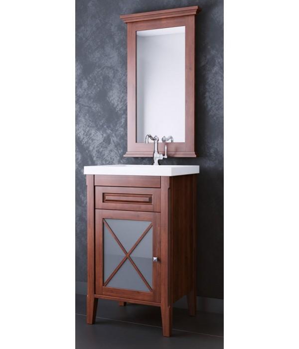 Комплект мебели Opadiris Палермо 50, коричневый