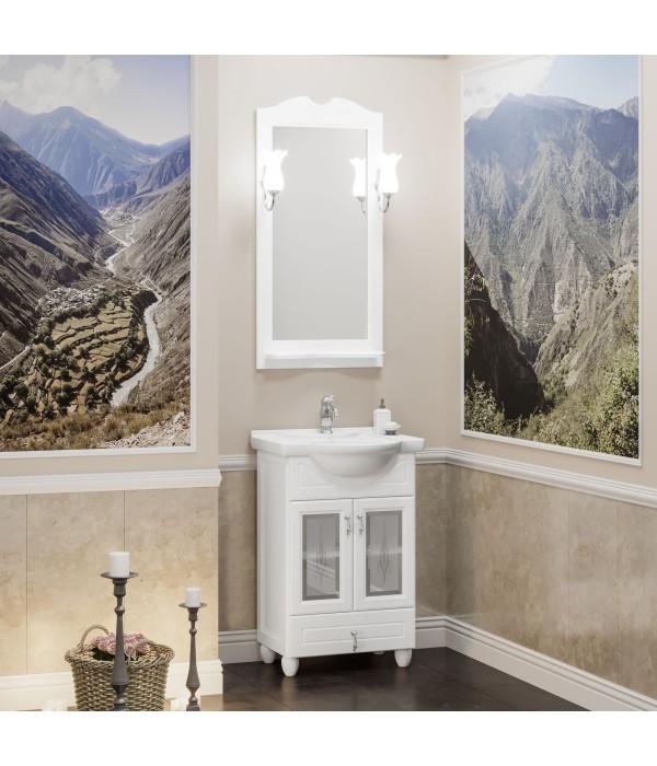 Комплект мебели Opadiris Тибет 50 белый матовый