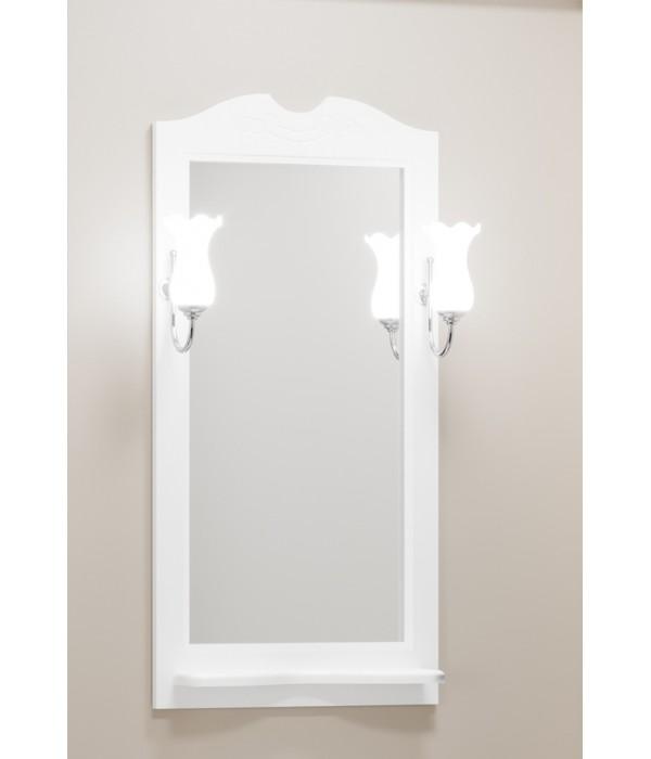 Зеркало Opadiris Тибет 50 белый матовый