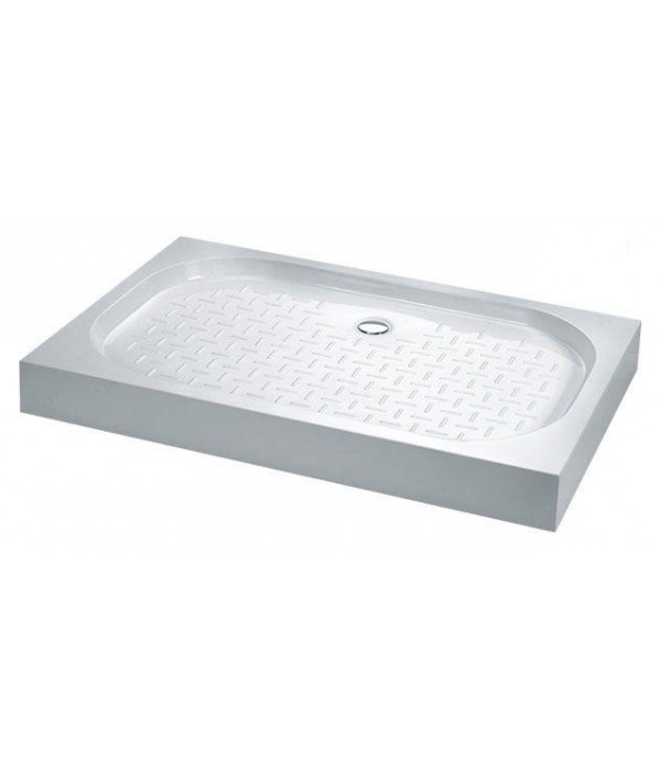 Поддон для душа Cezares Tray прямоугольный 120/80, белый, искусственный мрамор