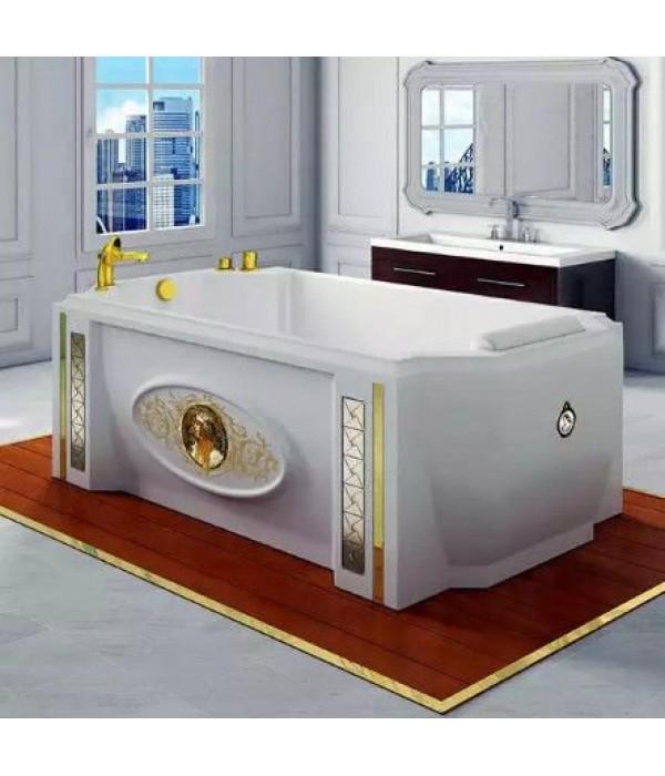 Акриловая ванна RADOMIR Эстелона с возможностью установки гидромассажа отдельностоящая