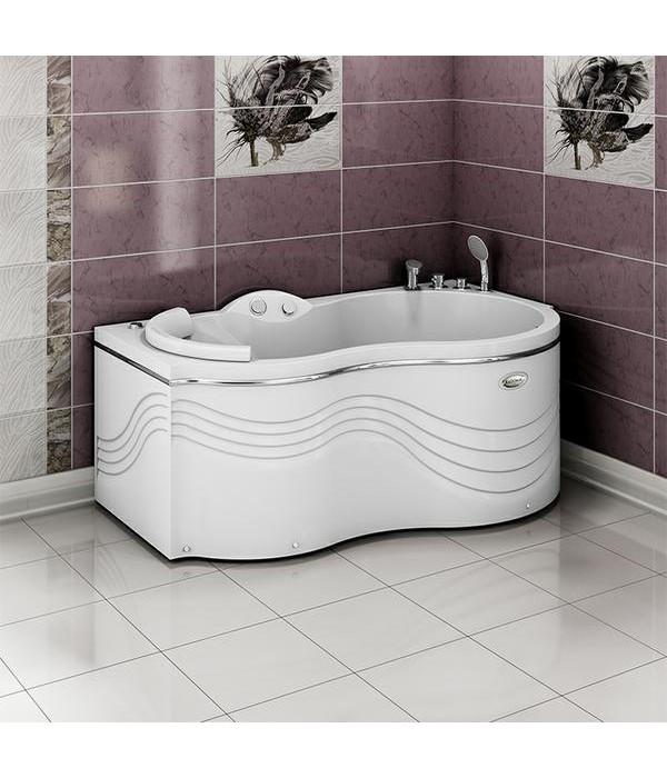 Акриловая ванна RADOMIR Паллада с возможностью установки гидромассажа