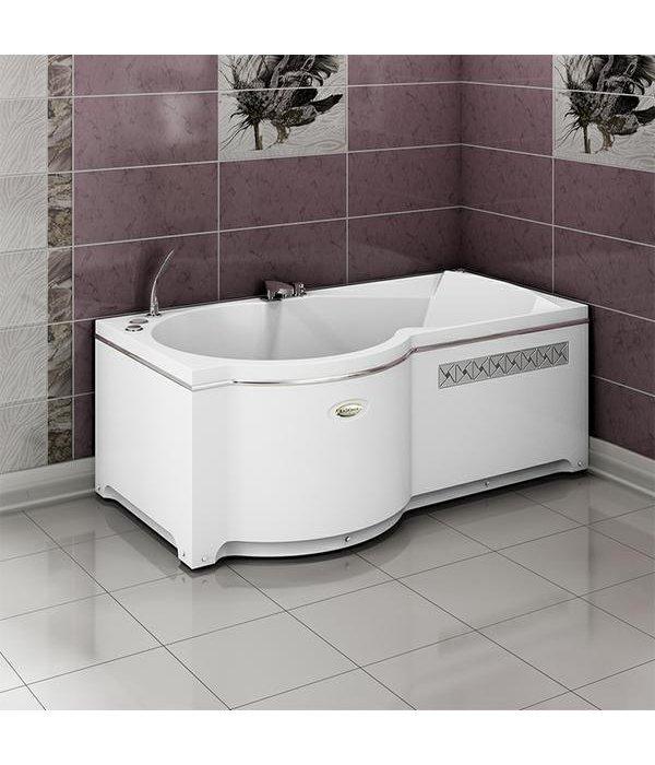 Акриловая ванна RADOMIR Валенсия с возможностью установки гидромассажа