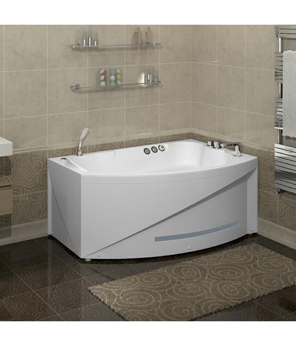 Акриловая ванна RADOMIR Бостон с возможностью установки гидромассажа