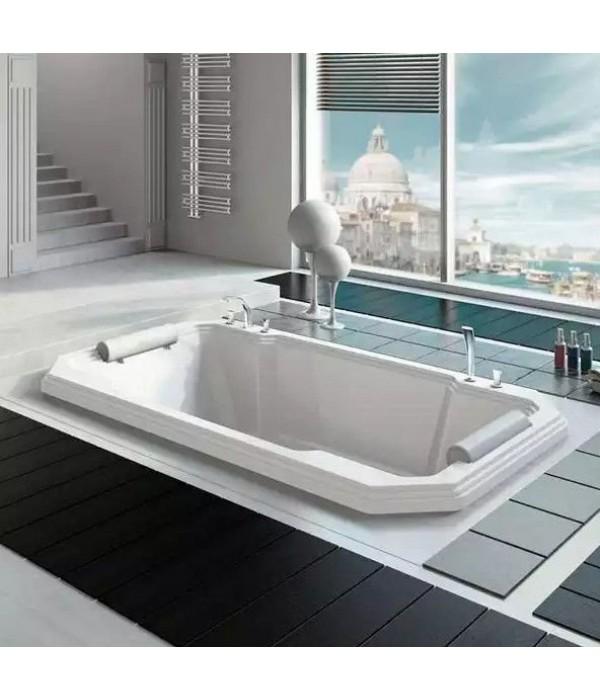 Акриловая ванна RADOMIR Фонтенбло с возможностью установки гидромассажа