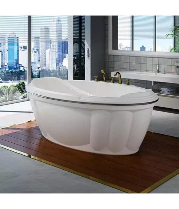 Акриловая ванна RADOMIR Гранада с возможностью установки гидромассажа отдельностоящая
