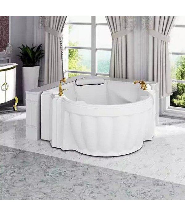 Акриловая ванна RADOMIR Монте-карло с возможностью установки гидромассажа отдельностоящая