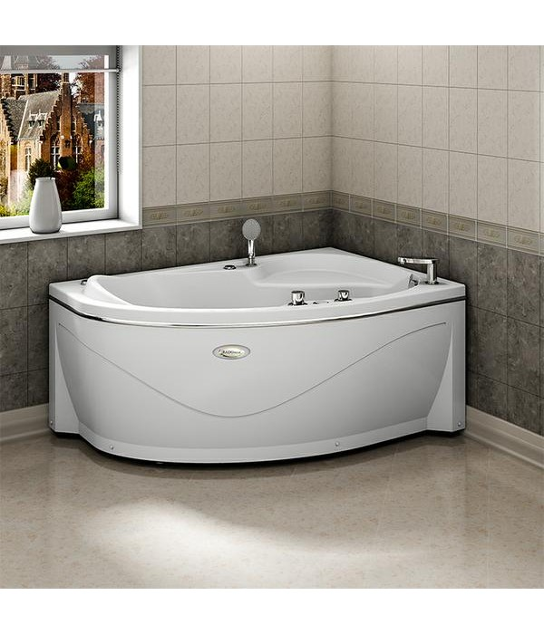 Акриловая ванна RADOMIR Амелия с возможностью установки гидромассажа